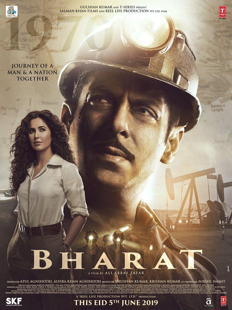 Bharat 2020 Hindi Movie 800MB HDRip ESubs Download