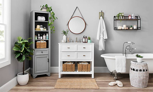 6 Special Tricks To Change A Small Bathroom So Luxurious