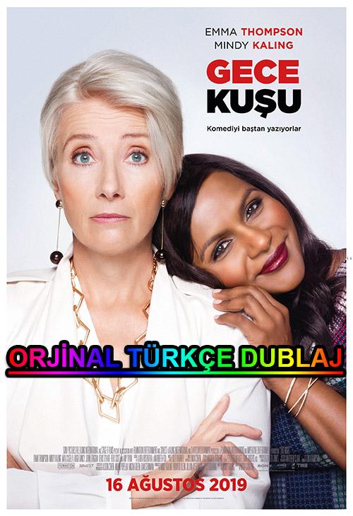 Gece Kuşu   Late Night   2019   BDRip   XviD   Türkçe Dublaj   m720p - m1080p   BluRay   Dual   TR-EN   Tek Link