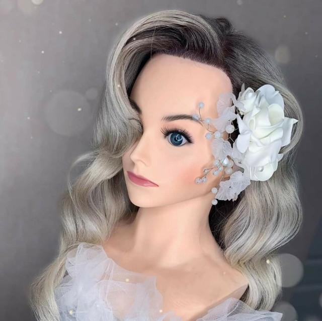 Профессиональная голова-манекен для причесок