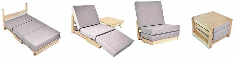 Multifunctioneel meubilair voor in een tiny house 2