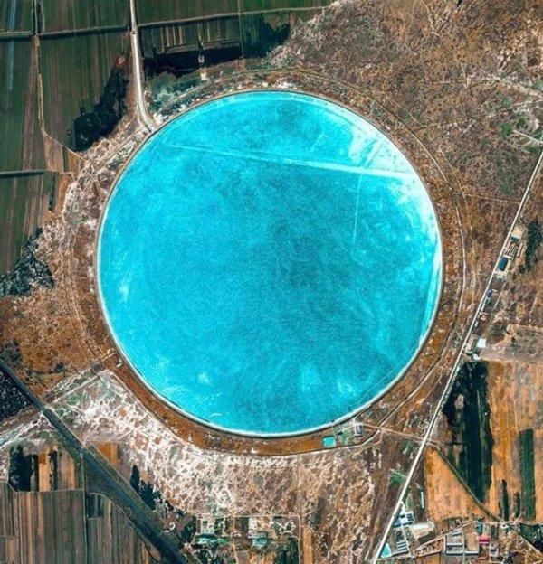 Водохранилище Пинюань в Северо-Восточном Китае