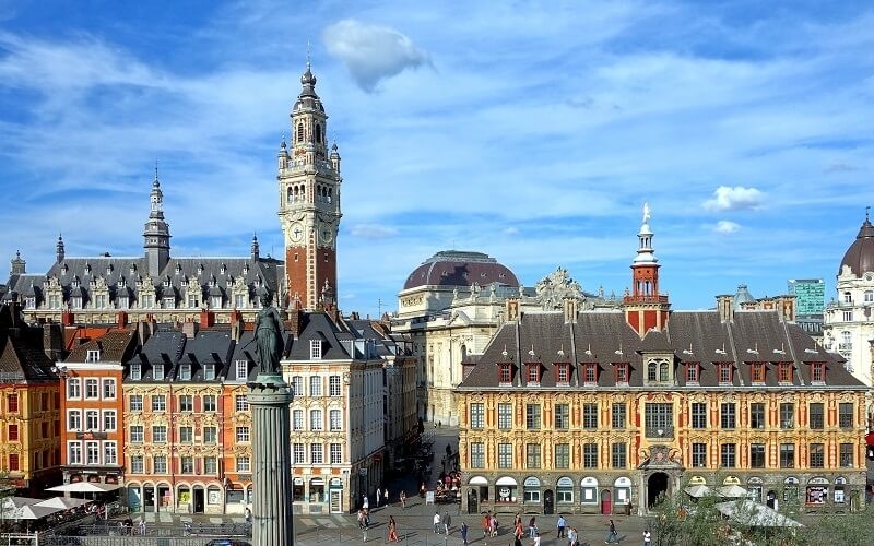 Lille city photo