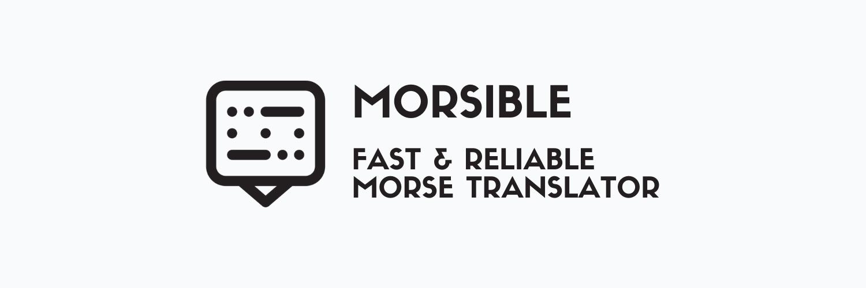 Morsible - Morse App