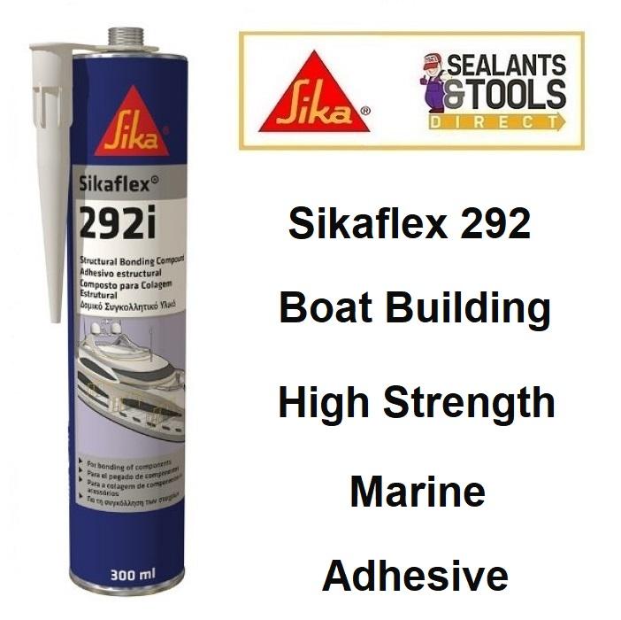 Sika Sikaflex 292 i Marine High Strength Adhesive White