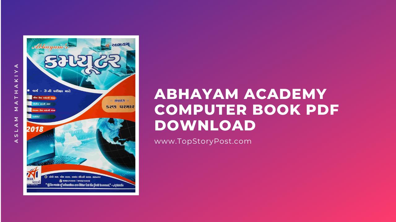Abhayam Academy Computer Book PDF Download