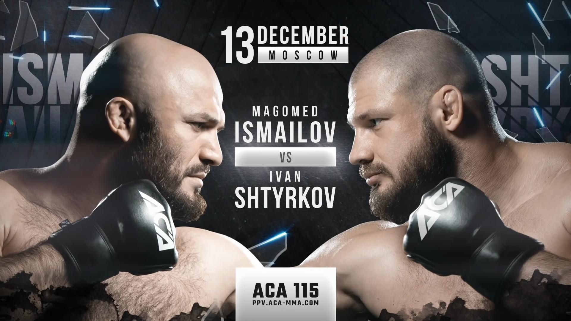 ACA 115: Исмаилов срещу Щирков - Тийзър
