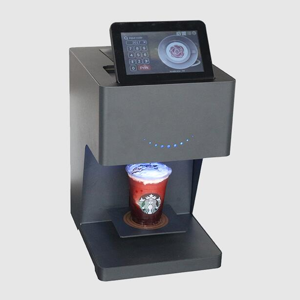 Gnfei Technology Inspires Coffee Shops to be More Creative with their Coffee Printers