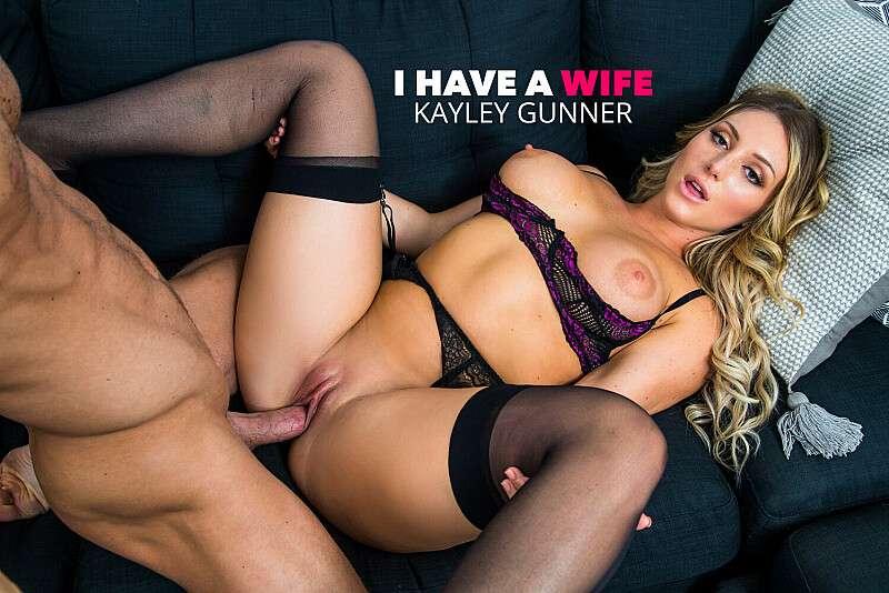 Kayley Gunner, Ryan Mclane – I Have A Wife – Naughty America