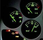Ferrari water temperature gauge