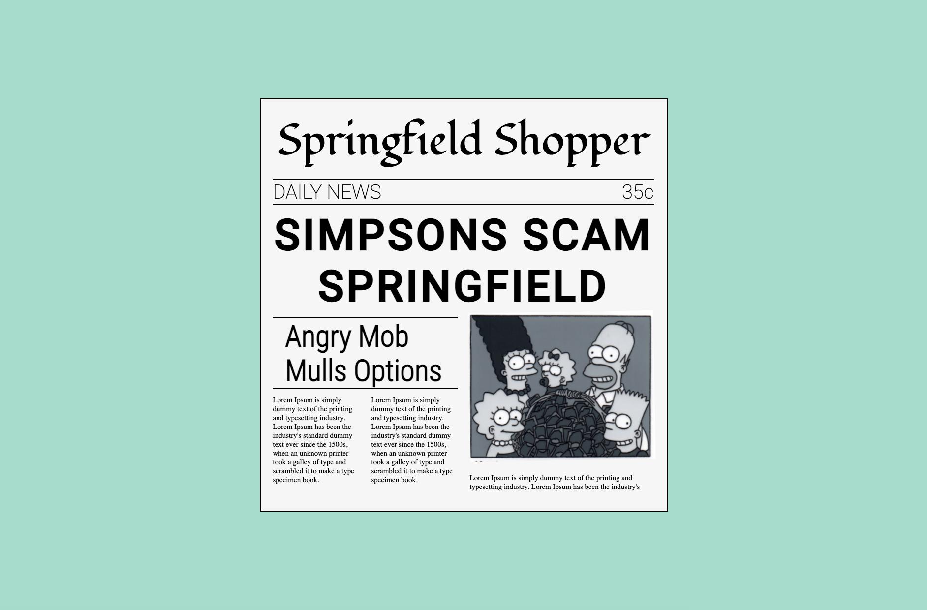 Periódico de lo Simpsons