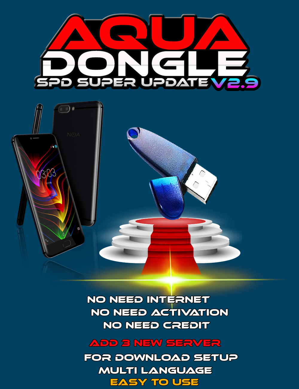 AQUA Dongle All Module V2.9 [SPD Module Hot New Features] Update 28-07-2020