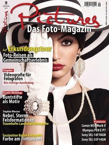 Cover: Pictures Das Foto-Magazin September No 09 2021