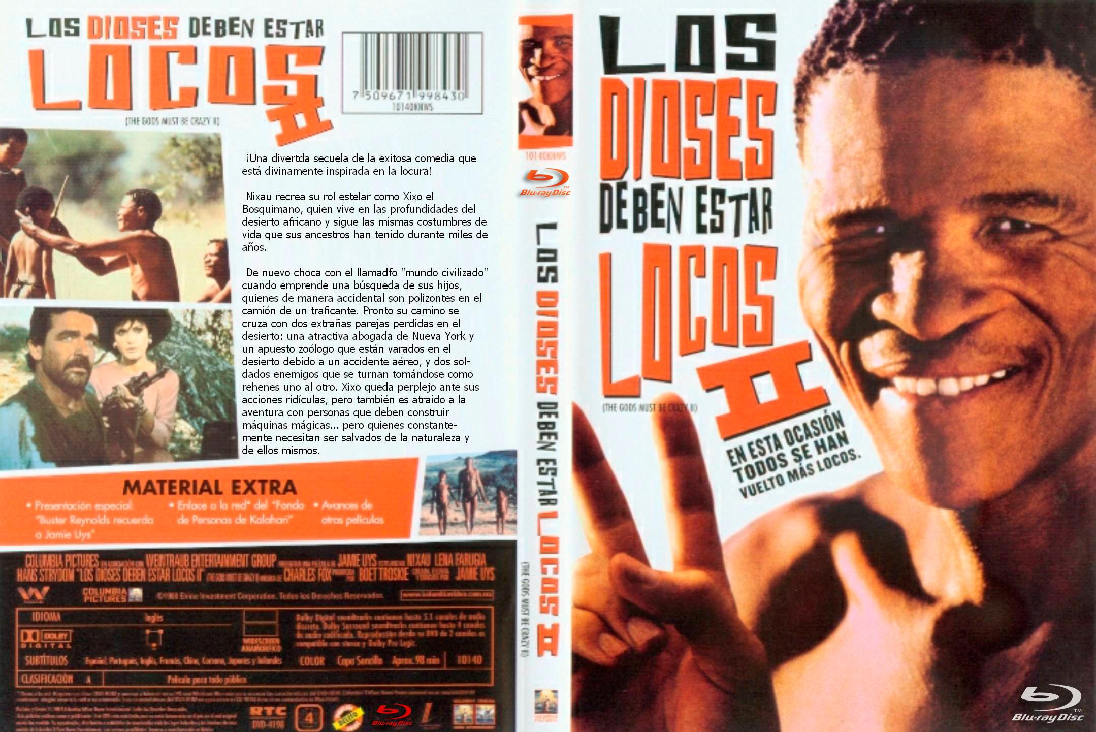 Los Dioses Deben Estar Locos I & II (1980-1989) x264
