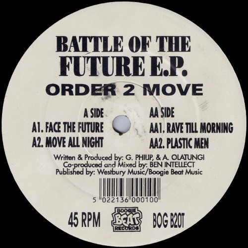 Order 2 Move - Battle Of The Future E.P. 1993