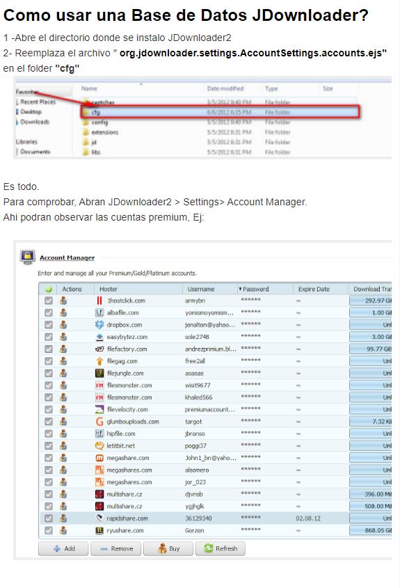 Premium Accounts Database Mayo 05 2020 Mega Identi