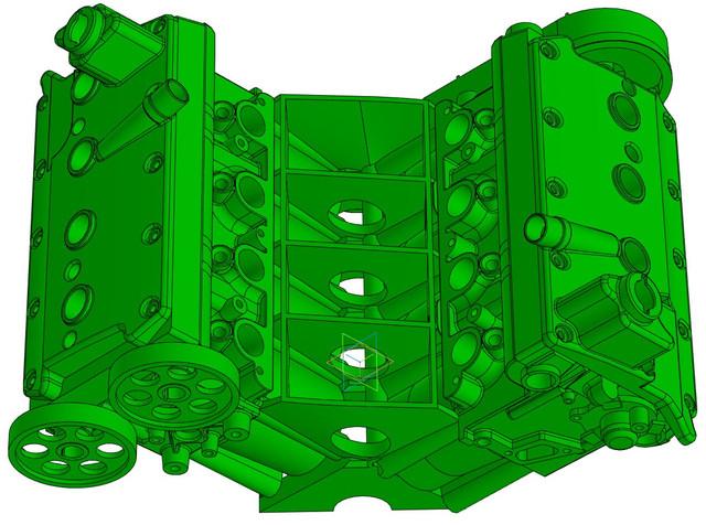 ВАЗ-V8. Восьмицилиндровый из двух вазовских. VAZ-V8-59