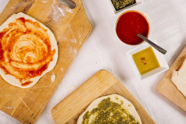 Pizza-laminada