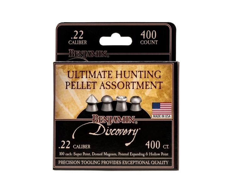 Crosman pointed .22 pellets sample pack 50