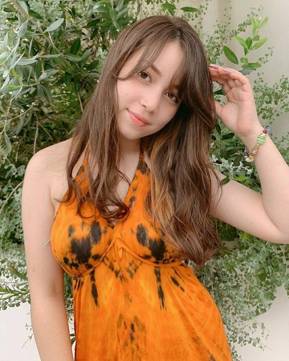 """超大膽!20歲混血美少女""""ミッシェル愛美""""美照賞-1"""