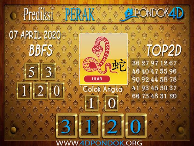 Prediksi Togel PERAK PONDOK4D 07 APRIL 2020