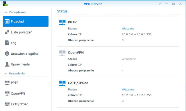 1 VPNServer Status