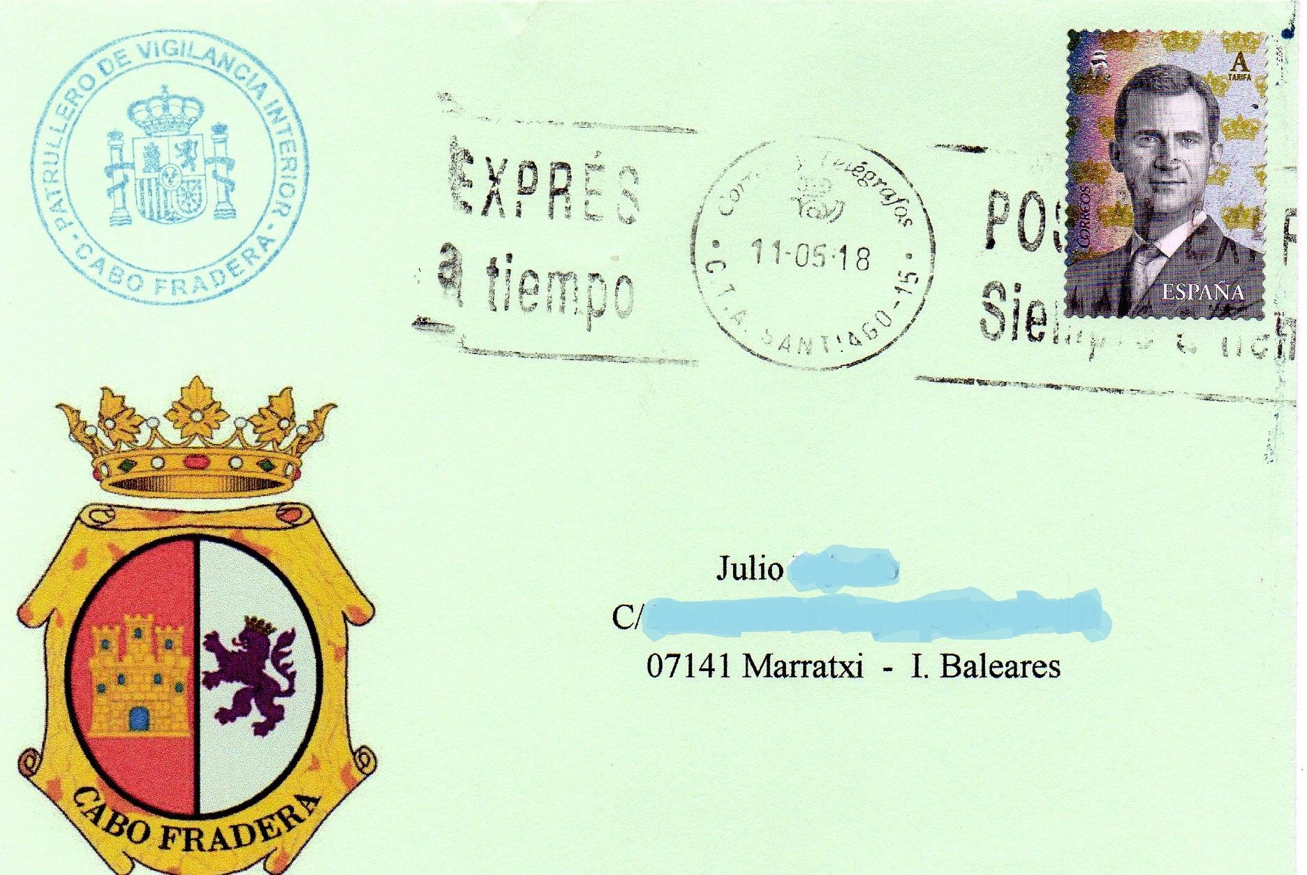 Buques de la armada PATRULLERO-CABO-FRADERA