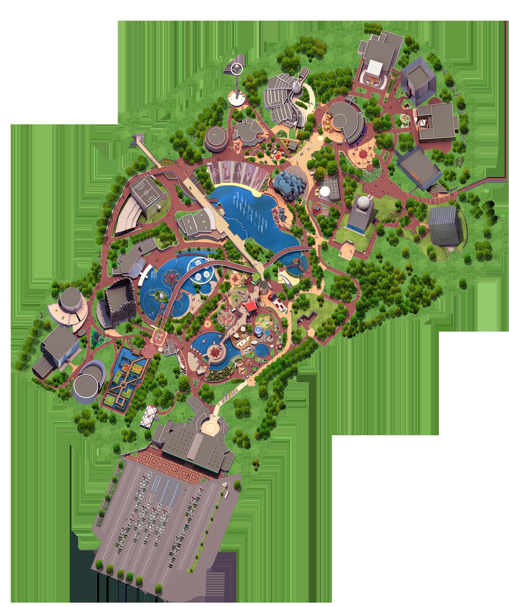 Plans de visite, signalétique et orientation - Page 28 Futuroscope-Map-FINAL