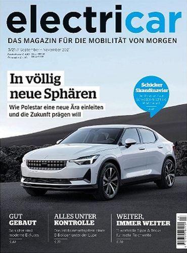Cover: Electricar Das Magazin für die Mobilität No 03 September- November 2021
