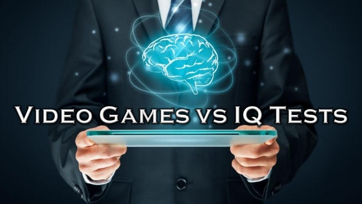Video Games VS. IQ Tests Icon