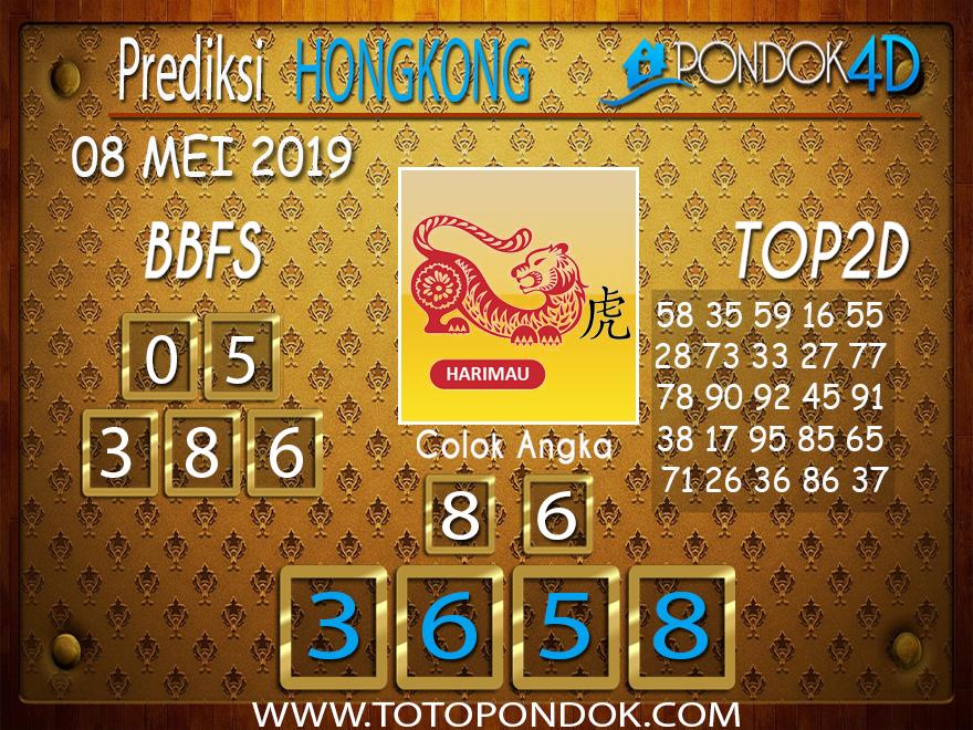 Prediksi Togel HONGKONG PONDOK4D 08 MEI 2019