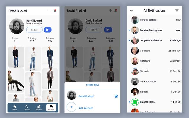 Material Design - Flutter Ui Kit Android - 23