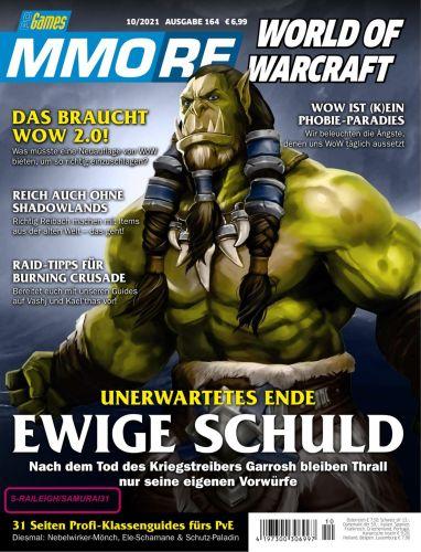 Cover: Pc Games Mmore Magazin No 10 Oktober 2021