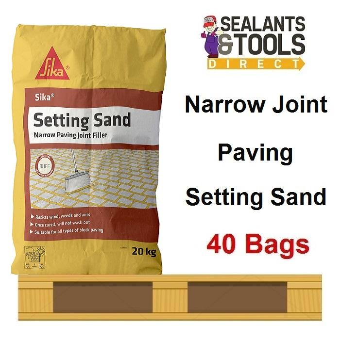 Sika-SKSANDBF20-Paving-Setting-Sand-20kg-Buff-Pallet-Deal