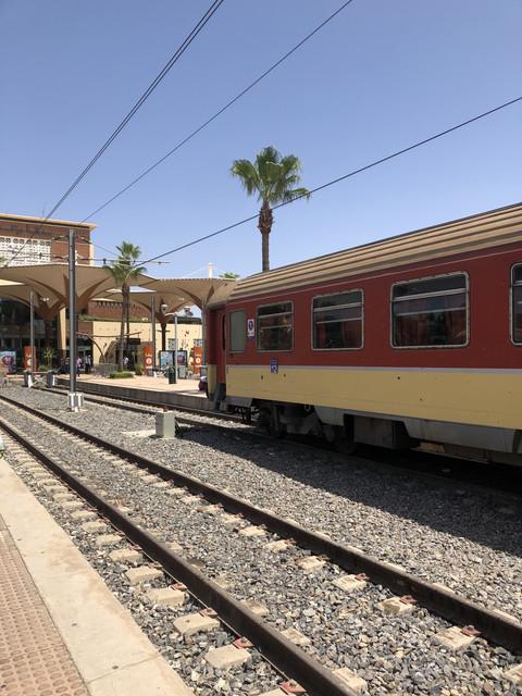 Treni in arrivo a Marrakech