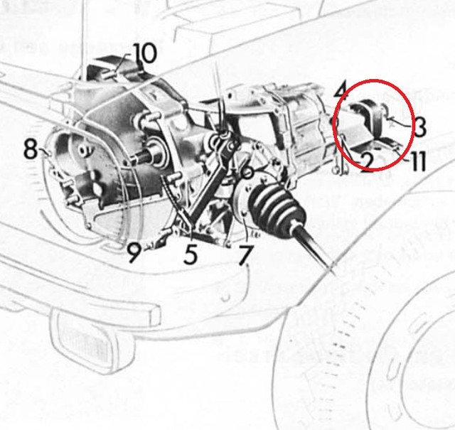 Audi 80 Getriebe 1