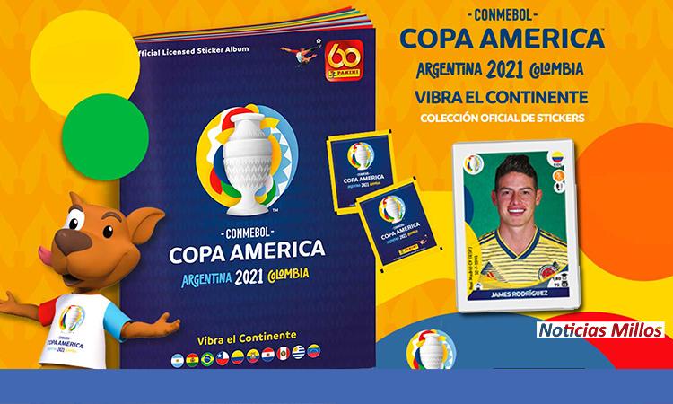 Álbum Copa América 2021