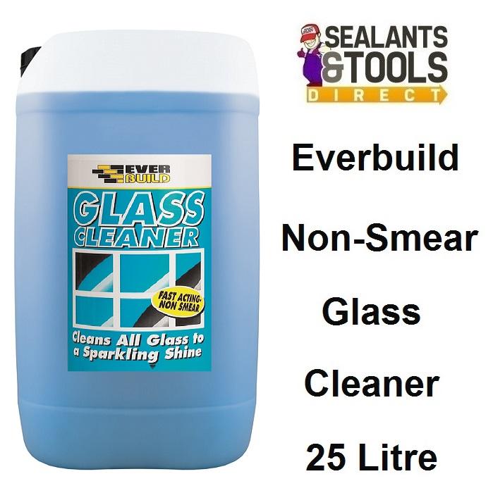 Everbuild Glass Cleaner Non Smear Trade 25 Litre GLACLN25