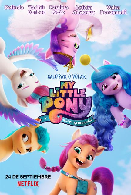 My Little Pony Yeni Bir Nesil - My Little Pony A New Generation (2021) [TR-EN] 1080p NF WEB-DL DDP5.1 H.264 Türkçe Dublaj