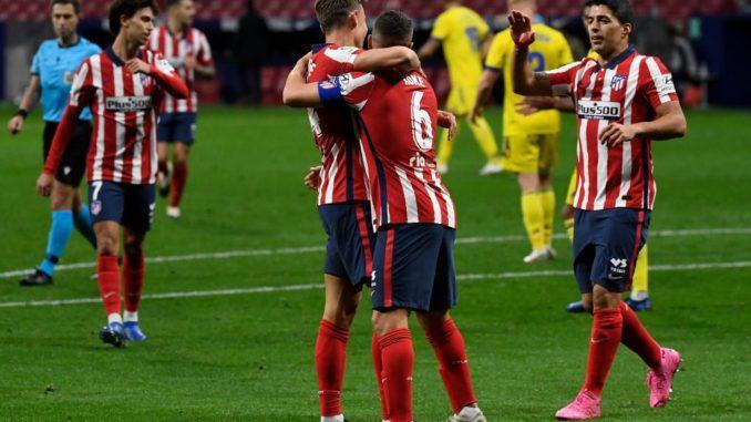 Tridente del Atletico de Madrid
