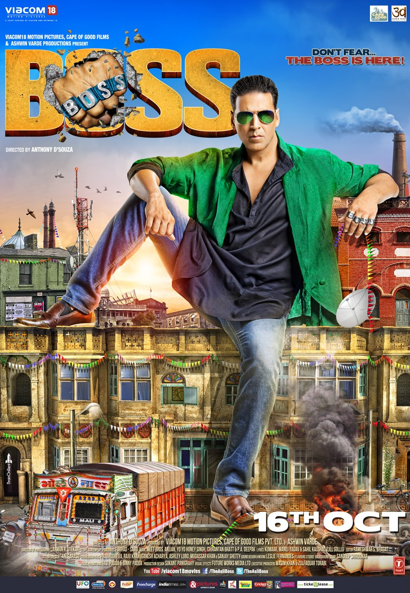 Boss (2013) Hindi Movie HDRip 720p AAC