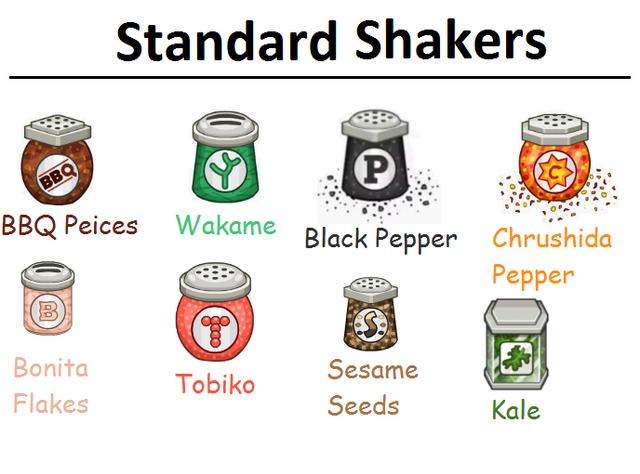 Standard-Shakers