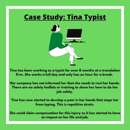 case study tina typist image