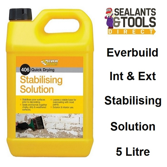Everbuild 406 Stabilising Solution Treatment 5 litre STAB5