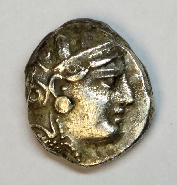(otro) Tetradracma de Atenas, este sobre 287-262 a.C. Ot03