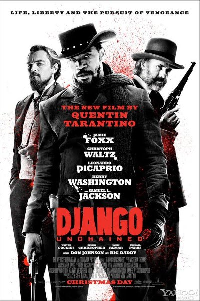 Django Unchained 2012 Hindi Dual 720p HDRip x264 1.4GB ESub DL