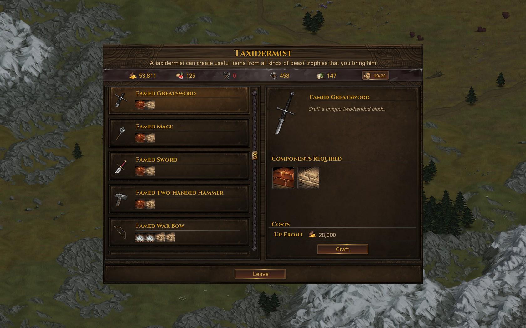 Craft Named Weapons / Создание именного оружия