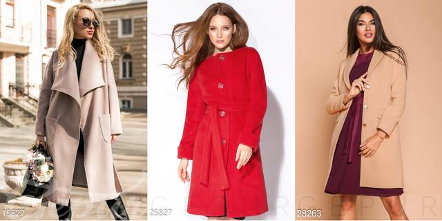 длинное женское кашемировое пальто
