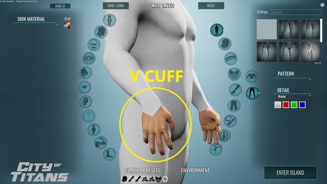 V-Cuff