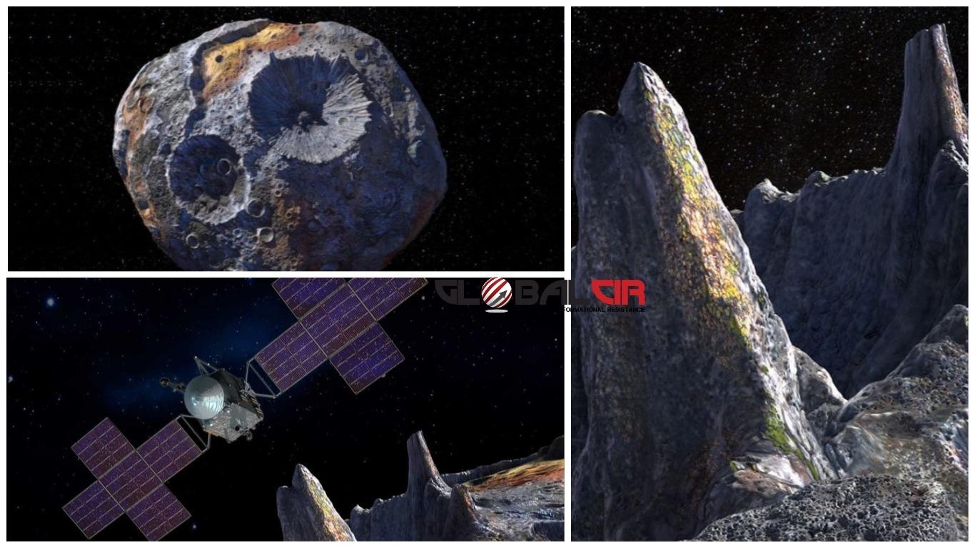 VRIJEDI VIŠE OD CJELOKUPNE SVJETSKE EKONOMIJE?! Između Marsa i Jupitera kruži izuzetno rijedak metalni asteroid koji se procjenjuje na 10.000 kvadriliona dolara!
